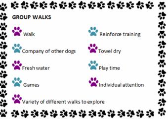 MB Dog walking